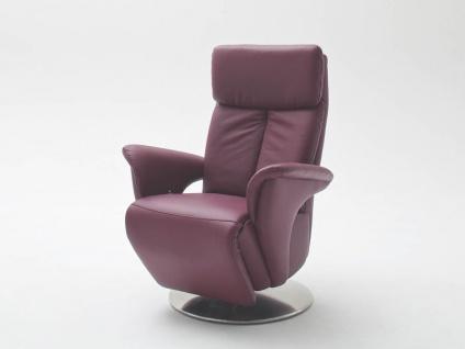 Steinpol Polsteria TV-Sessel Kaleido Style Plus inklusive 2-motorischer Verstellung und Akku in Stoff oder Leder Ausführung wählbar