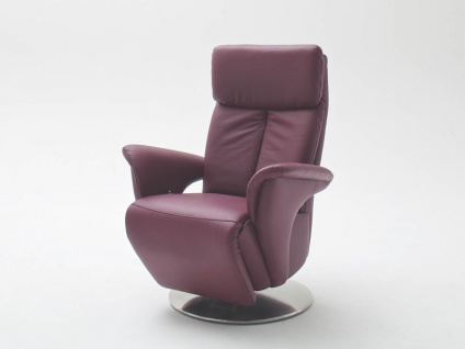 Steinpol Polsteria TV-Sessel Kaleido Style Plus inklusive manueller Verstellung in Stoff oder Leder Ausführung wählbar