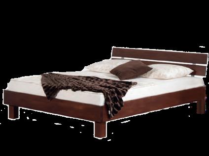 Neue Modular Primolar Serino Bett mit Kopfteil Sondrio und Füße Quadrat Liegefläche 180x200 cm