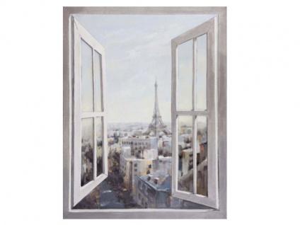Die Faktorei by Infantil Wandbild offenes Fenster Acrylfarben auf Leinwand