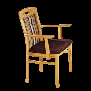 Dkk Klose Kollektion Sessel S26 Armlehnenstuhl passend zu Eckbank E26 Holzausführung und Bezug Sitz und Rücken wählbar
