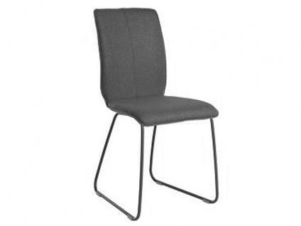 Bert Plantagie Stuhl Tara 811 mit Uni-Polsterung und Schlittengestell Polsterstuhl für Esszimmer Esszimmerstuhl Gestellausführung und Bezug in Leder oder Stoff wählbar