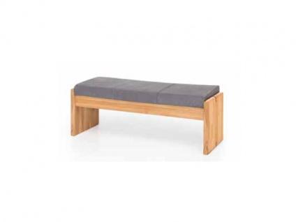Standard Furniture Truhenbanksystem Stockholm Sitzbank mit oder ohne Rückenlehne wählbar Massivholz in 3 Holzausführungen Größe und Bezug wählbar Bank für Ihr Esszimmer oder Gaderobe - Vorschau 1