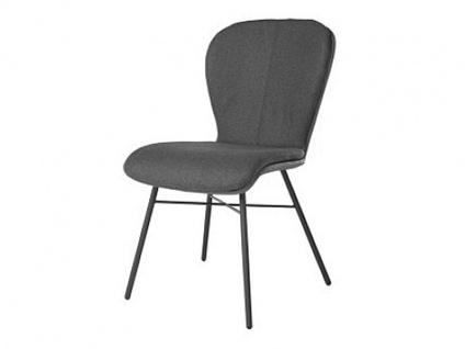 Blake Four Komfort von Bert Plantagie mit Uni-Mattenpolsterung Stuhl 612C für Esszimmer Esszimmerstuhl Gestellausführung und Bezug in Leder oder Stoff wählbar