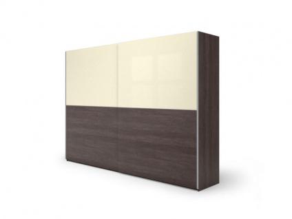Nolte Möbel concept me 310 Schwebetürenschrank mit einer waagerechten Türsprosse Ausführung 2