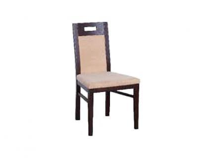 Dkk Klose Kollektion Stuhl S12 Polsterstuhl 6442 für Esszimmer Bezug und Holzausführung wählbar