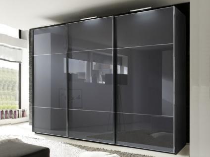 Nolte Marcato Schwebetürenschrank Kleiderschrank Ausführung 3 Korpus und Glasfronten wählbar