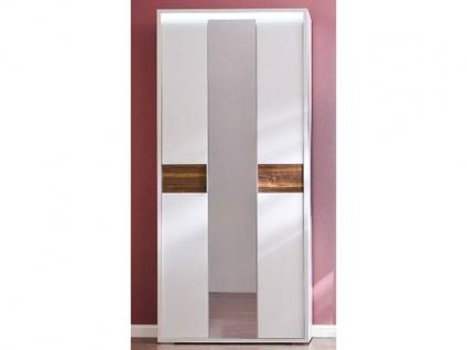 Wittenbreder Merano Kompakt Garderobe 510 Schrank mit Spiegeltür für Flur Diele