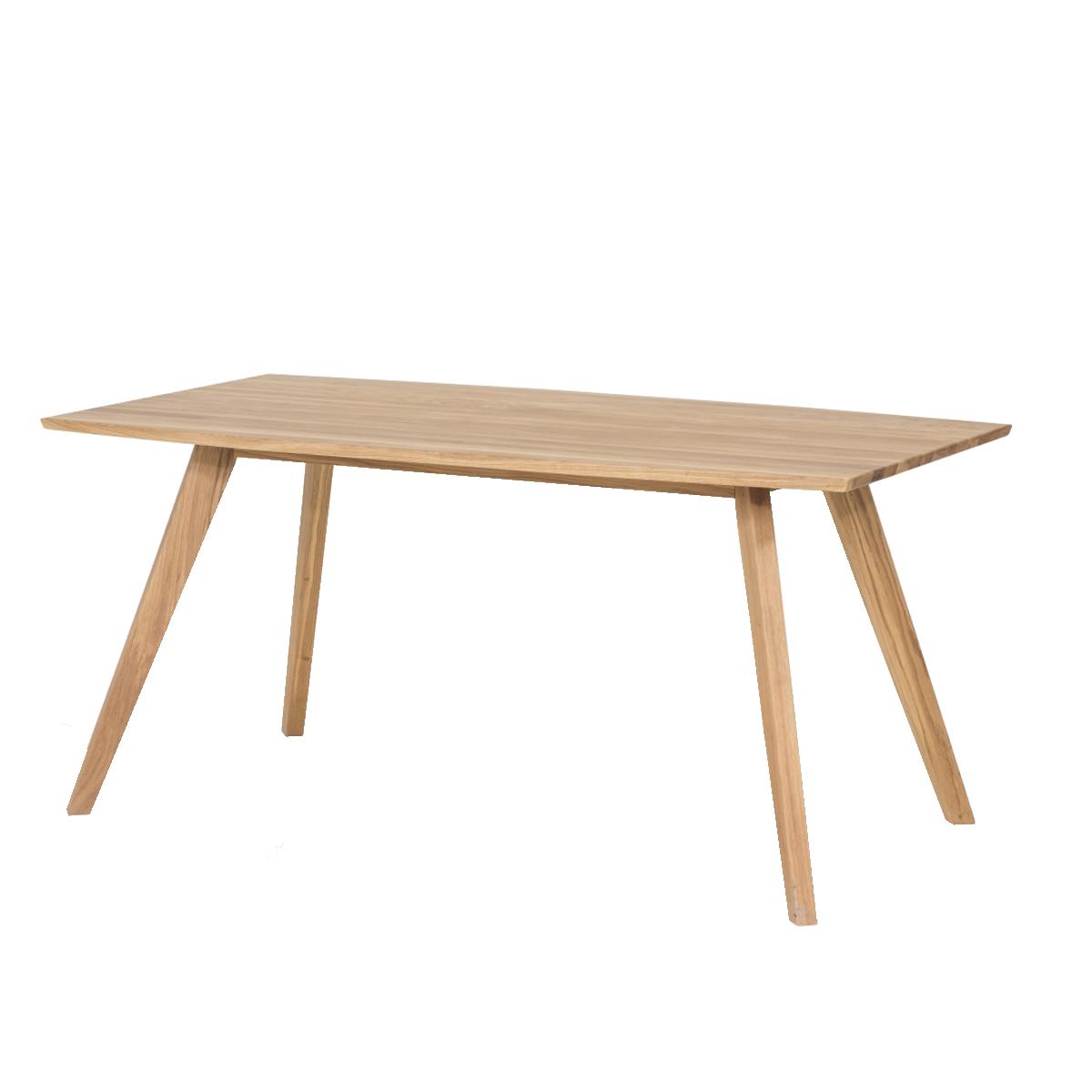 Standard Furniture Factory Holztisch Trondheim ca. 30x 30 cm in Eiche  geölt Massivholz rechteckig für Esszimmer und Küche