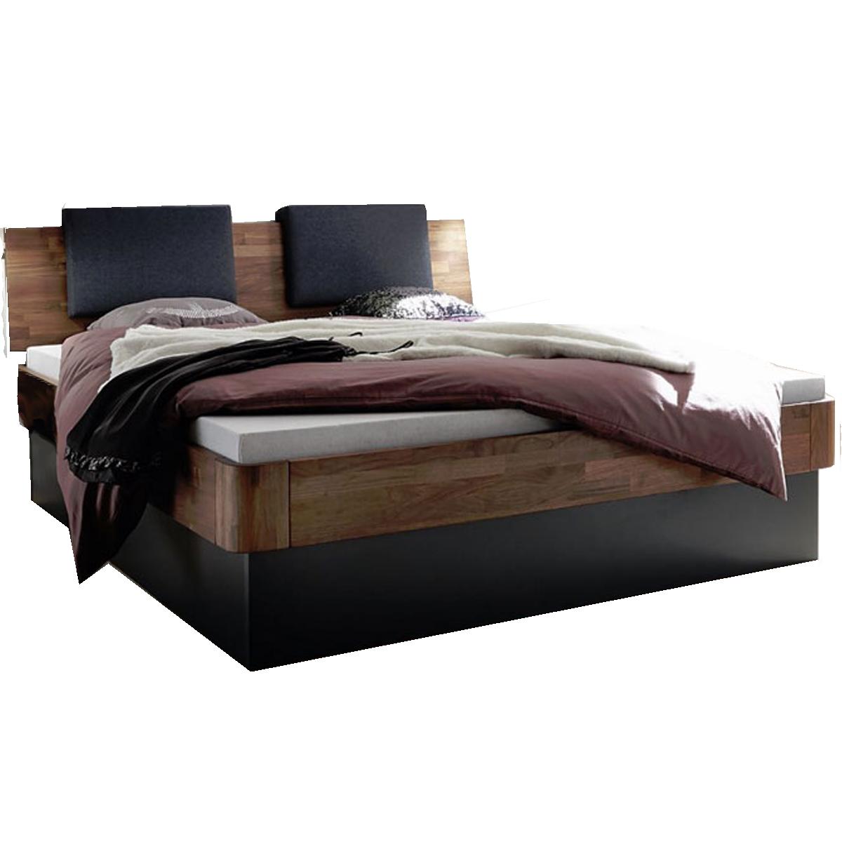 Hasena Fine-Line Bett bestehend aus Bettrahmen Syma 18 Kopfteil ...