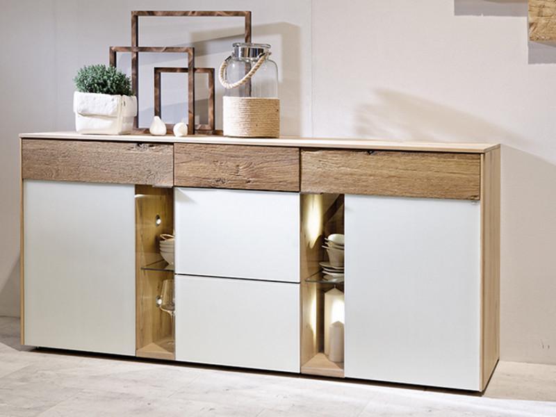 Voglauer V Solid Sideboard Für Wohnzimmer Oder Esszimmer V Solid Kommode  Mit 2 Türen Und ...