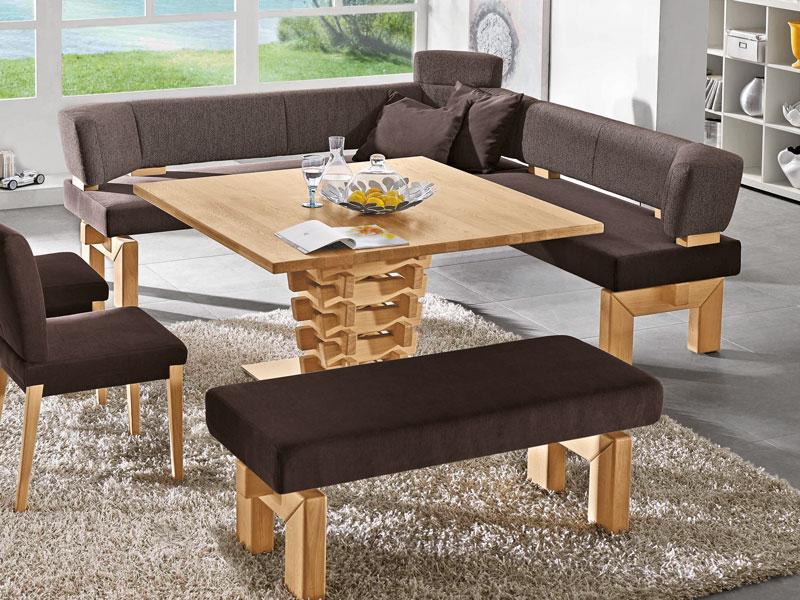 Fesselnd K+W Möbel Brunch 7985 5 Teilige Essgruppe Eckbank Bankelement Anbauelement  Tisch Stühle Für Esszimmer ...
