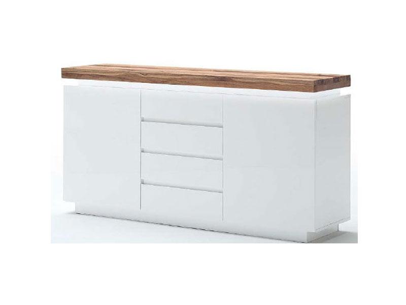 mca romina sideboard 48993 mw5 kommode f r esszimmer beim bel schrank f r wohnzimmer inkl led. Black Bedroom Furniture Sets. Home Design Ideas