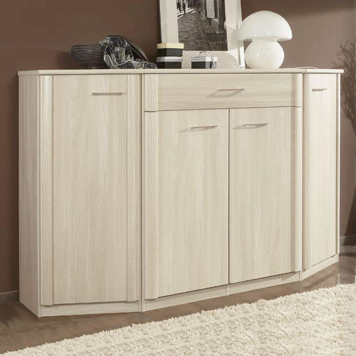 wiemann luxor 3 4 schlafzimmer schrank kommode mit abgeschragten abschlusselementen farbausfuhrung wahlbar 2