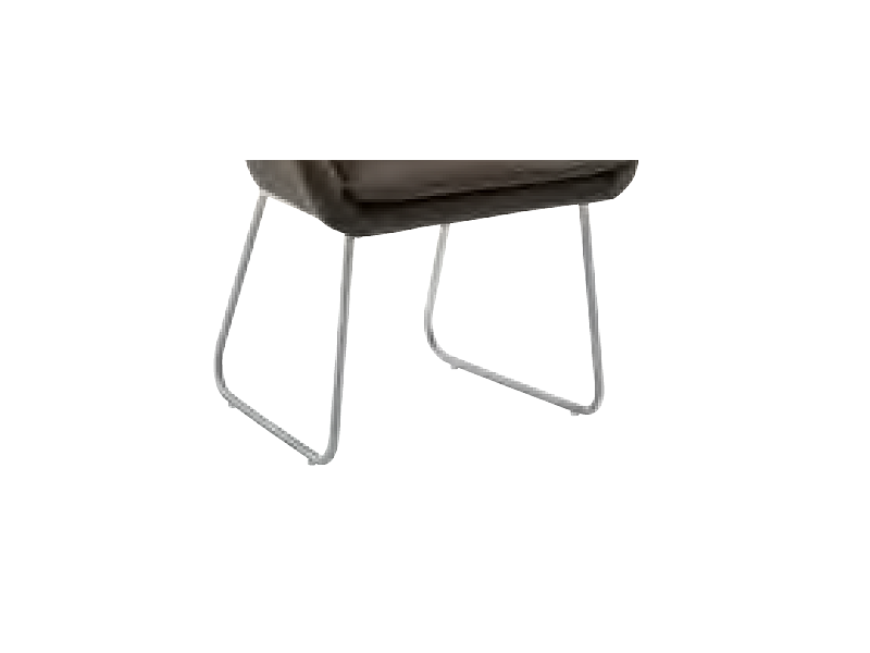 niehoff stuhlsystem comforta polsterstuhl mit kufengestell. Black Bedroom Furniture Sets. Home Design Ideas