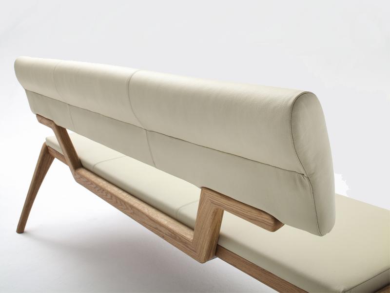 wimmer nyon sitzbank mit r ckenlehne sitzfl che und r cken. Black Bedroom Furniture Sets. Home Design Ideas