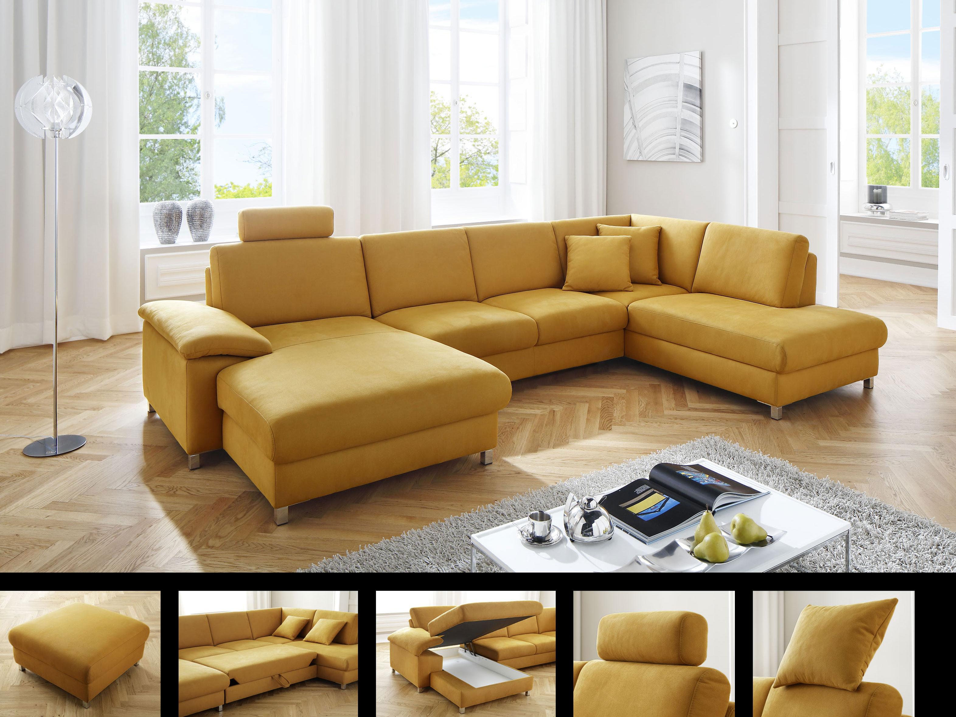 Uberlegen Candy Loreno Wohnlandschaft Sofa Longchair + 2 Sitzer + Umbauecke Rechts  Couch Für Wohnzimmer In