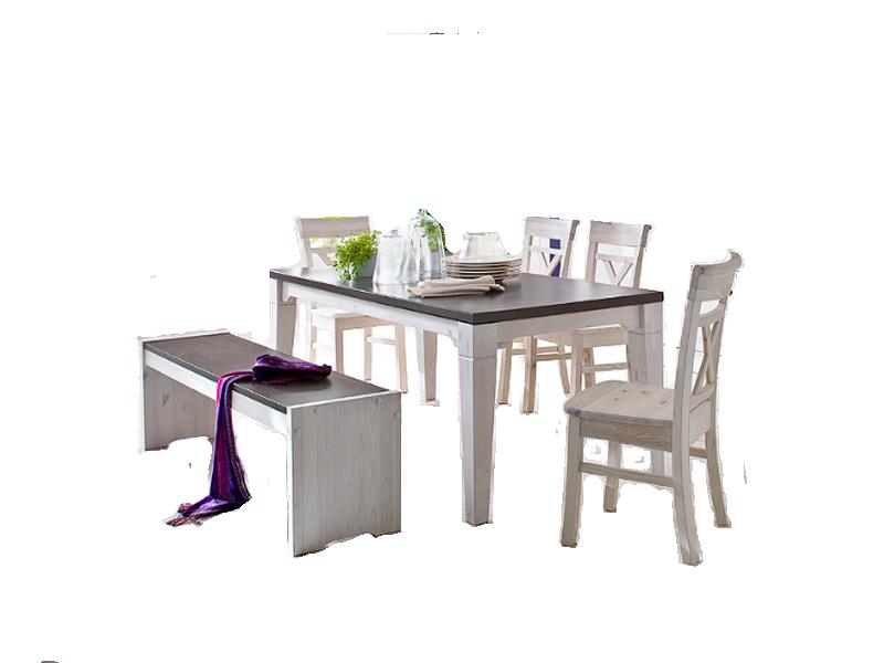Euro Diffusion Boston Speisezimmer Mit Esstisch Vier Stuhlen Einer