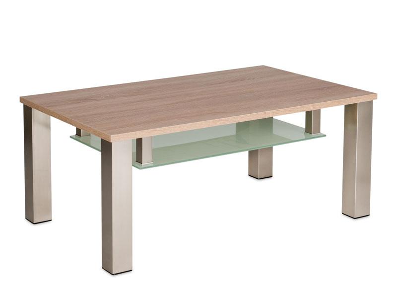 Couchtisch rund eiche sägerau  Vierhaus Couchtisch 4272 -ESP mit Tischplatte ca.105 x 65 cm Eiche ...