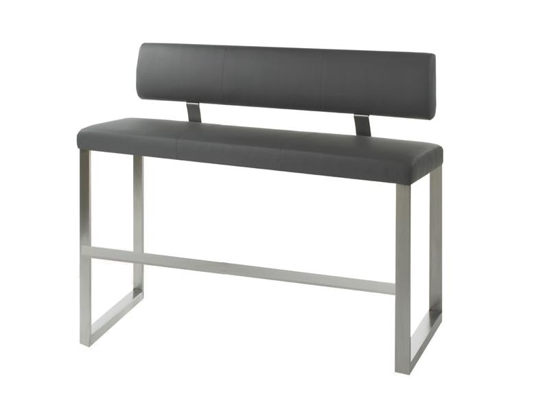 mwa aktuell milano hochbank mit r ckenlehne f r ihr esszimmer sitzbank in kunstleder stoff oder. Black Bedroom Furniture Sets. Home Design Ideas