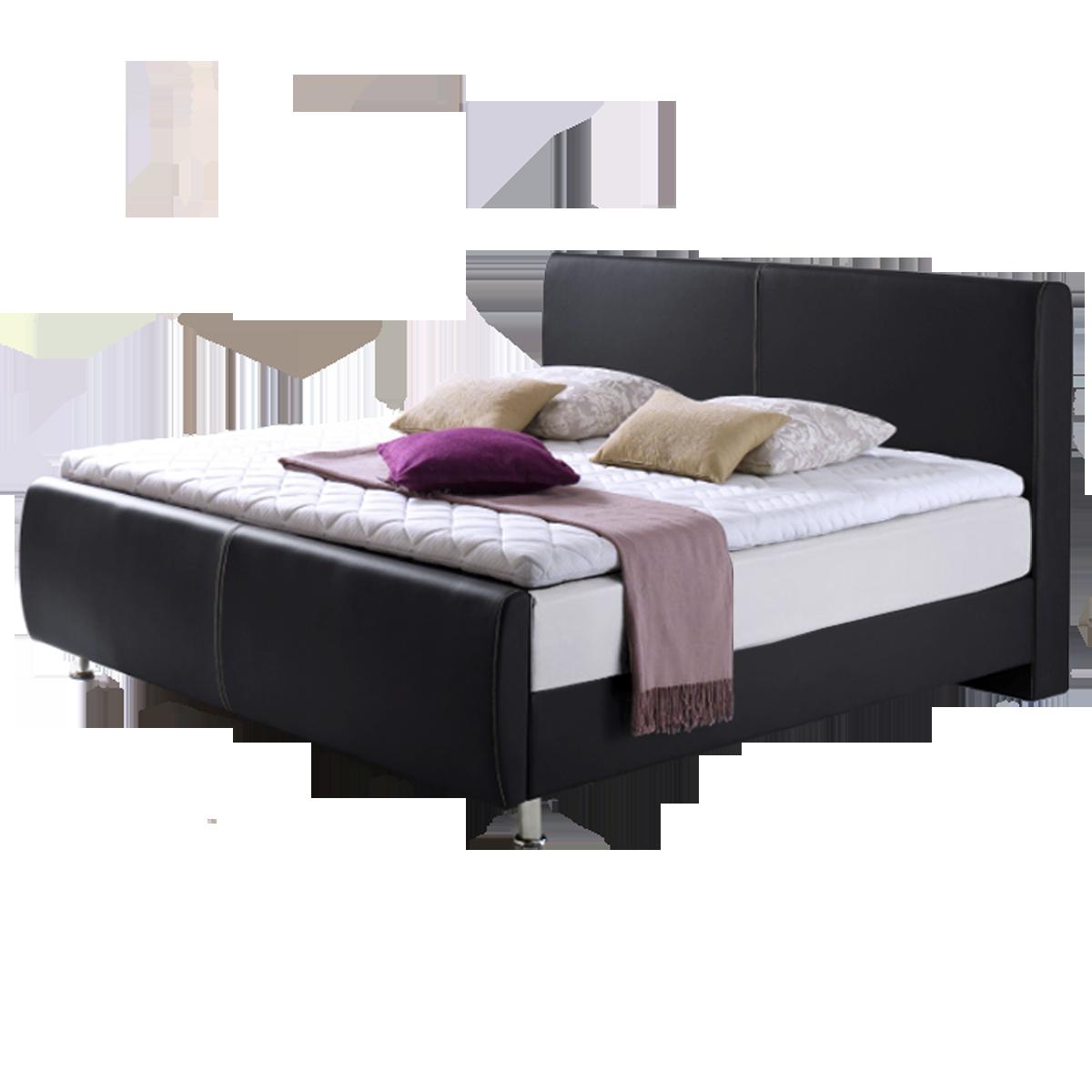 meise m bel boxspringbett amadeo mit kunstlederbezug farbe. Black Bedroom Furniture Sets. Home Design Ideas