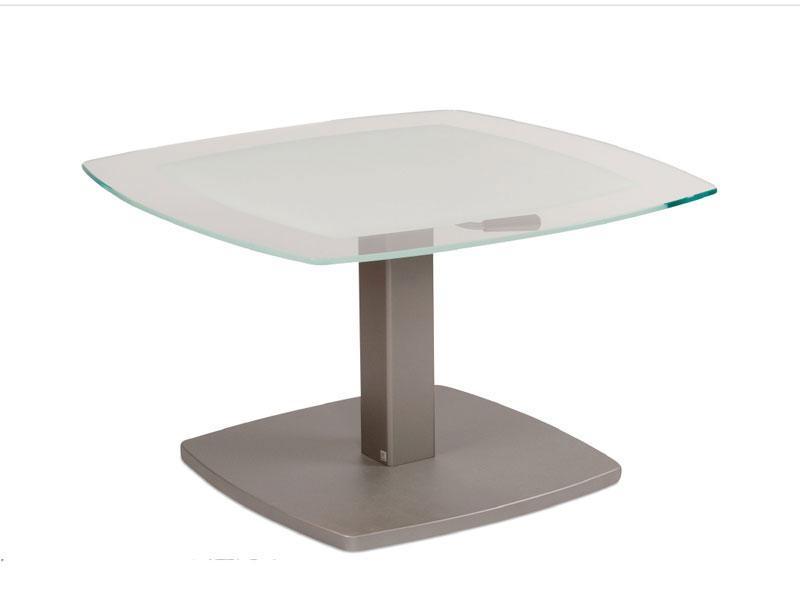 Vierhaus Couchtisch 2396 Glastischplatte Optiwhite Ca80 X 80 Cm