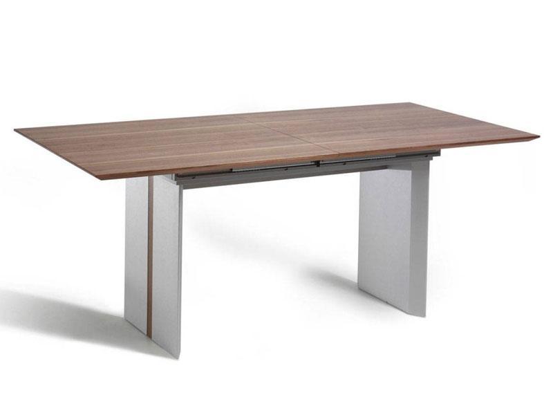 k w m bel 7845 esstisch silaxx echtholzfurnier tisch furnier f r esszimmer mit oder ohne. Black Bedroom Furniture Sets. Home Design Ideas