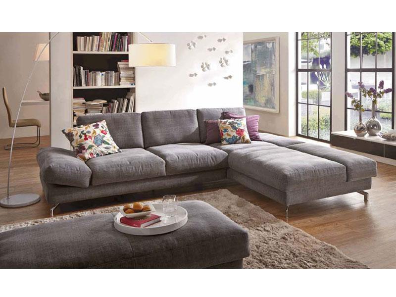 Wohnzimmer Eckcouch, k+w möbel mezzo 7051 ecksofa sofagarnitur sofa 2-sitzer groß und, Design ideen