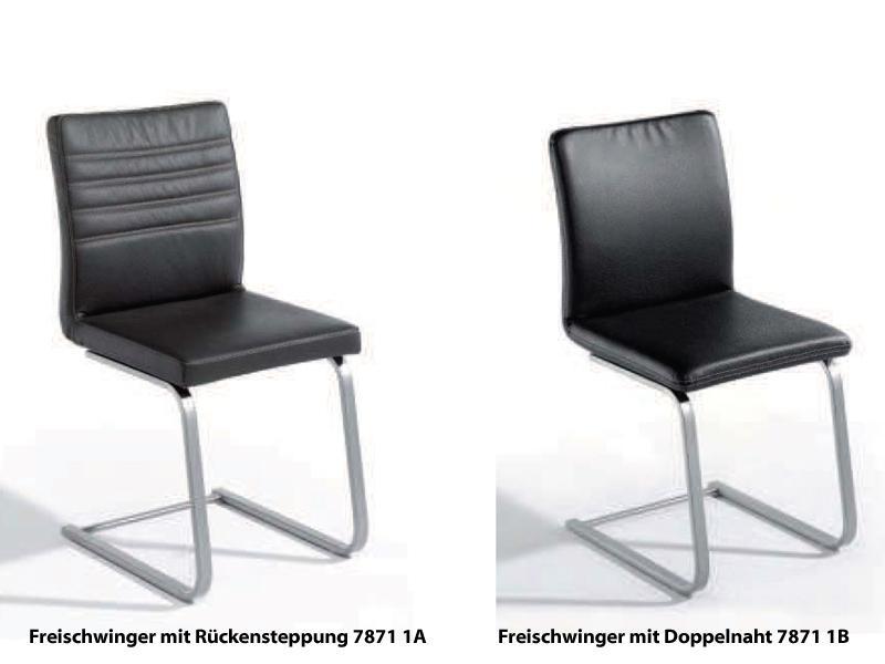 K W Silaxx 7871 Freischwinger Kw Mobel Hochwertiger Stuhl In Leder