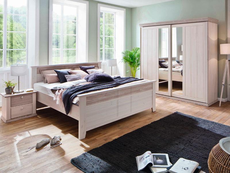 Euro Diffusion Göteborg Schlafzimmer 2-teilig Komfortbett und ...