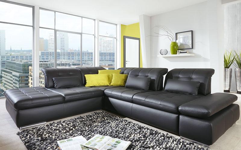 eck kombination mit sofa und ottomane with eck kombination trax mit dem niedrigen kubu with. Black Bedroom Furniture Sets. Home Design Ideas
