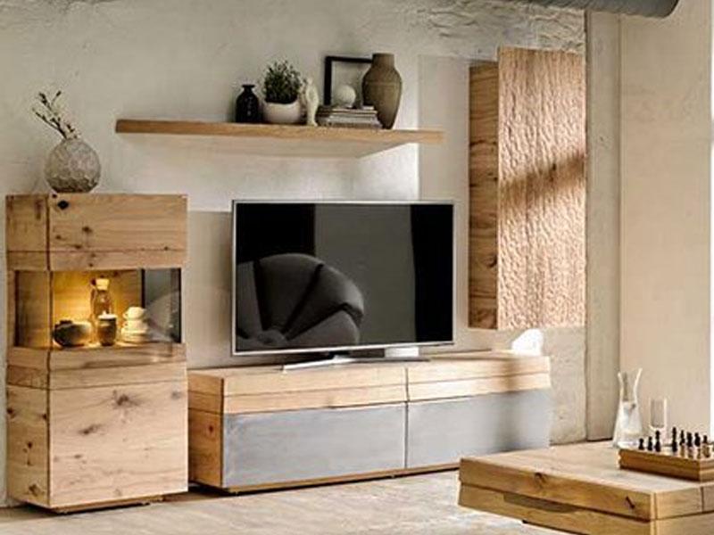voglauer v organo vorschlagskombination ov196 l e vierteilige kombination in wildeiche rustiko. Black Bedroom Furniture Sets. Home Design Ideas
