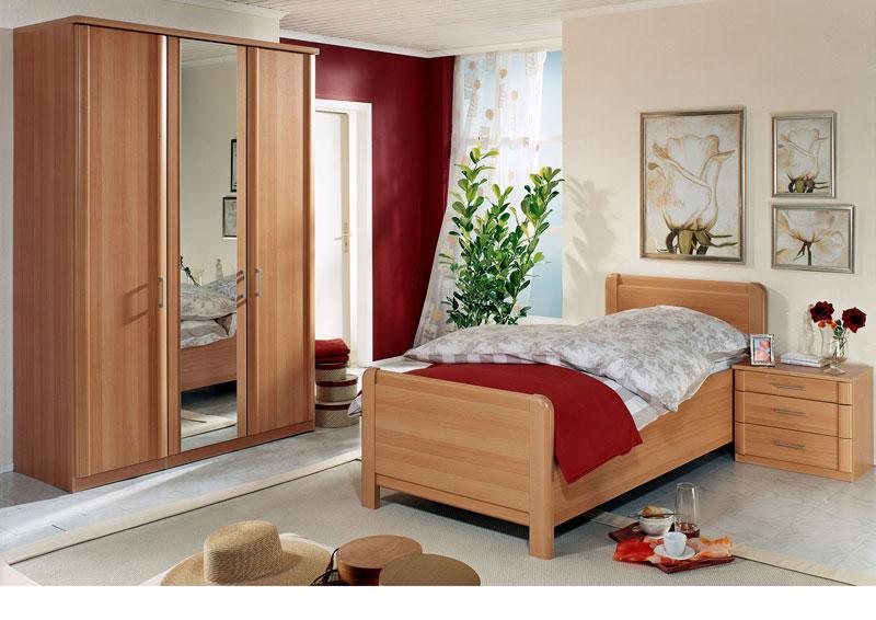 Wiemann Luxor 4 Schlafzimmer Komfortbett, Drehtürenschrank ...