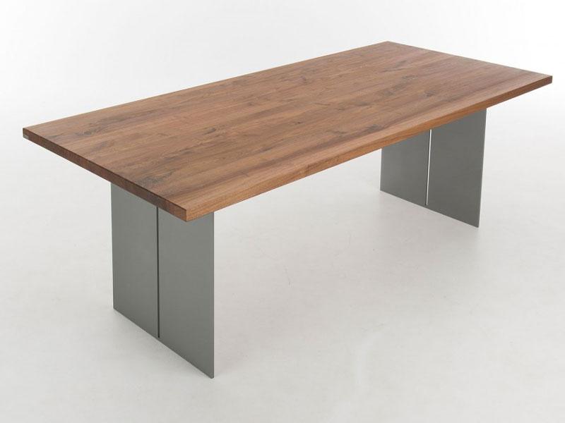 bert plantagie tisch santiago mit holzplatte esstisch ohne funktion f r esszimmer. Black Bedroom Furniture Sets. Home Design Ideas