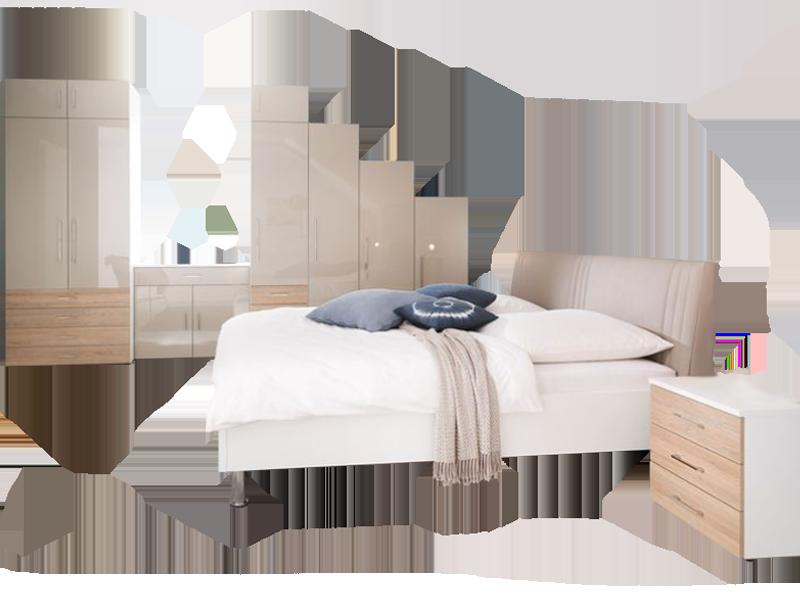 Wellemöbel Kleiderschrankwunder KSW Schlafzimmer bestehend aus ...