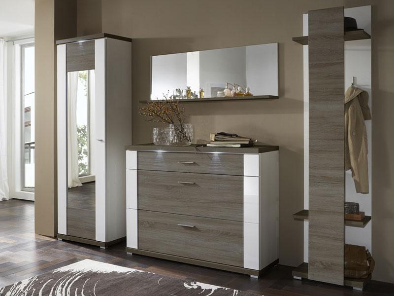 Ideal Möbel Garderobe Manhattan Kombination 01 Inklusive