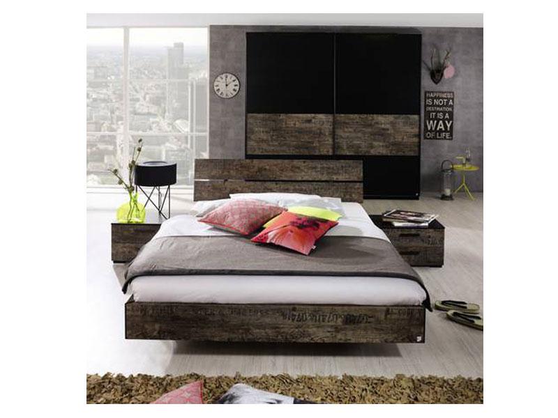schlafzimmer rauch sumatra, rauch select sumatra schlafzimmer mit schwebetürenschrank und bett, Design ideen