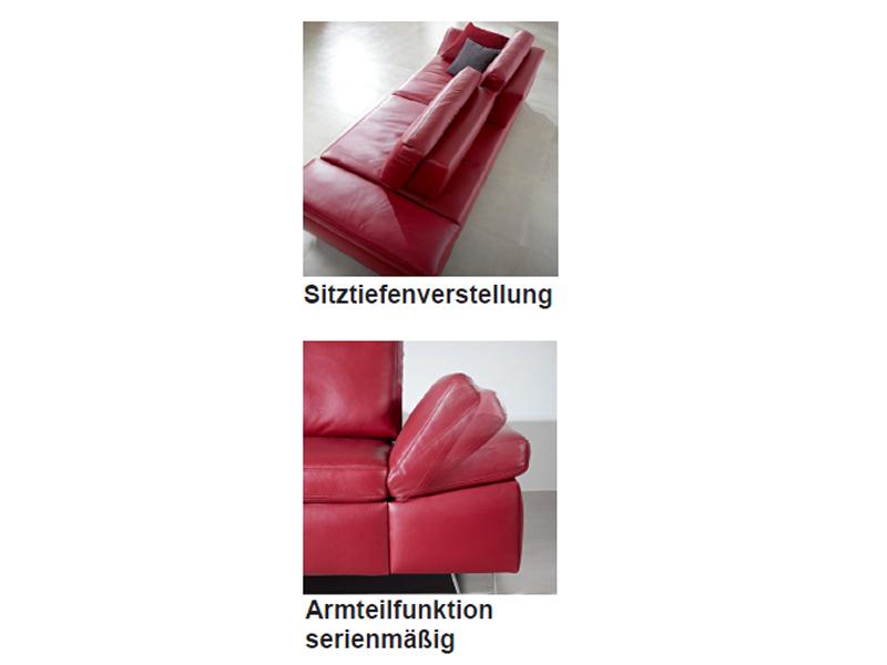 K + W Polstermöbel Sofa 7474 Dive 2 x Sofa 2-Sitzer mit ...