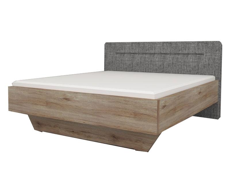 Staud Sonate Bett in Luxushöhe mit Fußteil schwebend und ...