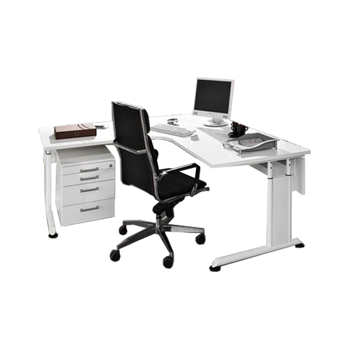 Wellemöbel Hyper Büroset 3- teilig bestehend aus Ecktischanlage ...