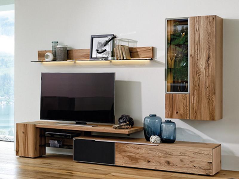voglauer v alpin vorschlag 224 wohnwand 4 teilig massivholz anbauwand f r wohnzimmer v alpin mit. Black Bedroom Furniture Sets. Home Design Ideas