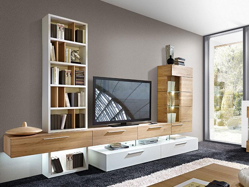 schrder mbel vivendi kombination k oder k teilmassive teilige fr wohnzimmer wohnwand mit with wohnzimmer wohnwand