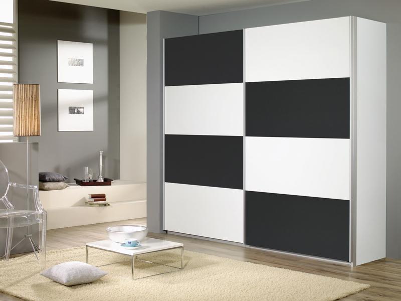 schlafzimmer quadra, rauch packs quadra kleiderschrank schwebetürenschrank schlafzimmer, Innenarchitektur
