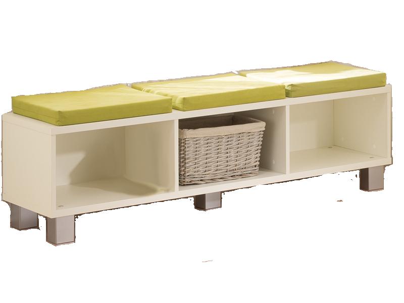 Paidi Biancomo Lowboard mit Sitzkissen für Kinderzimmer Sitzkissen ...