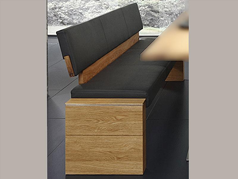 wimmer acerro sitzbank mit r ckenlehne sitzfl che und. Black Bedroom Furniture Sets. Home Design Ideas