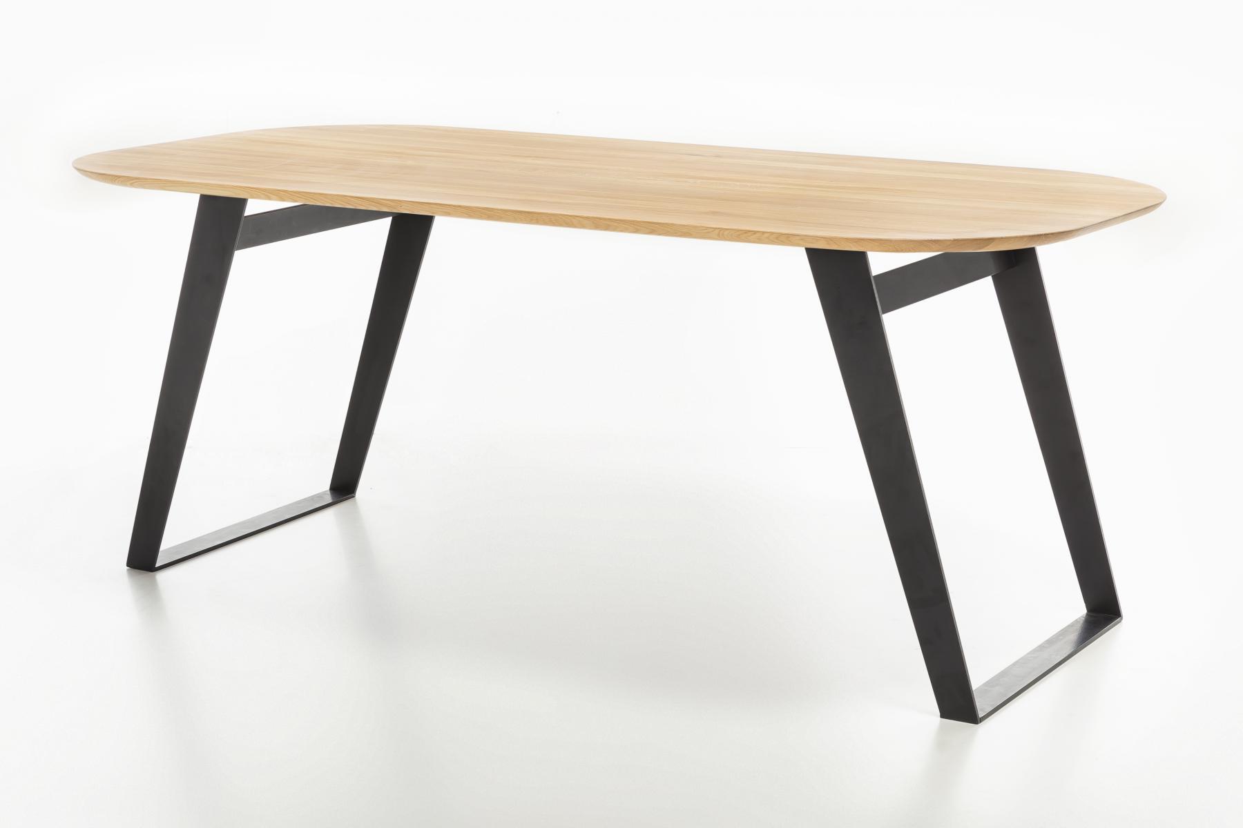 Standard Furniture Esstisch Ottawa Mit Gestell 3 Spange Schwarz