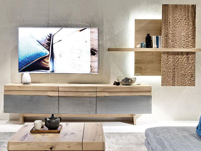 voglauer v organo vorschlagskombination ov304 r e zweiteilige kombination in wildeiche rustiko. Black Bedroom Furniture Sets. Home Design Ideas