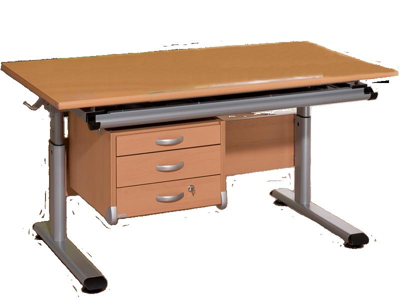 Paidi Schoolworld Marco 2 120 Schreibtisch mit Universal Container ...