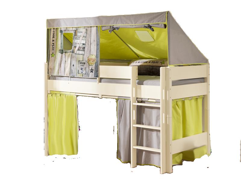 vorhang fr spielbett cool vorhang f r hochbett sch n hochbett spielbett kinderbett f r vorhang. Black Bedroom Furniture Sets. Home Design Ideas