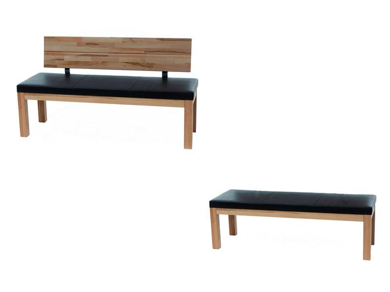 standard furniture factory sitzbank catania massive bank mit polstersitz f r esszimmer und k che. Black Bedroom Furniture Sets. Home Design Ideas